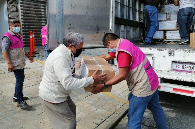 Llegan a Huauchinango 293 mil boletas para consulta ciudadana