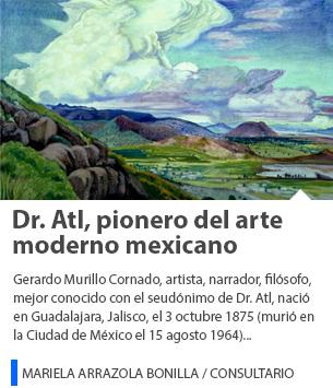 Dr. Atl, pionero del arte moderno mexicano