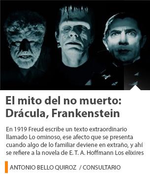 El mito del no muerto: Drácula, Frankenstein