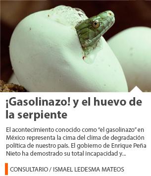 ¡Gasolinazo! y el huevo de la serpiente