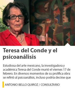 Teresa del Conde y el psicoanálisis