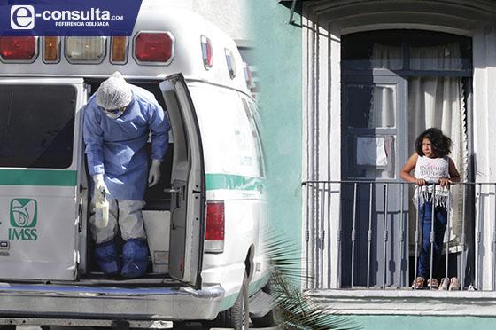 Crecen en confinamiento 8.9% contagios y 7.9% muertes en Puebla