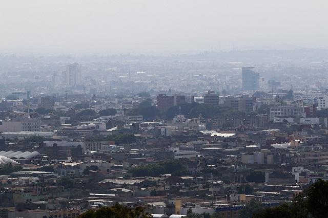 Pasa de panzazo red de monitoreo de la calidad del aire en Puebla