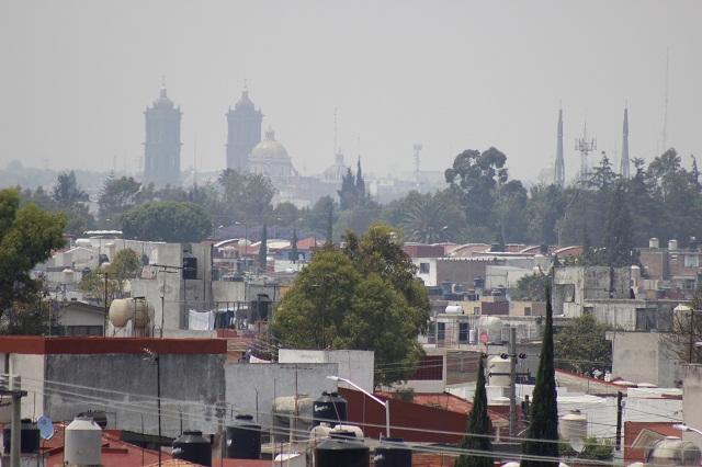 Puebla es séptima ciudad más contaminada del país, según estudio