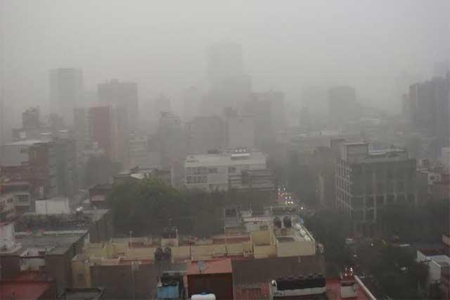 Por mala calidad del aire, continúa la precontingencia en el DF