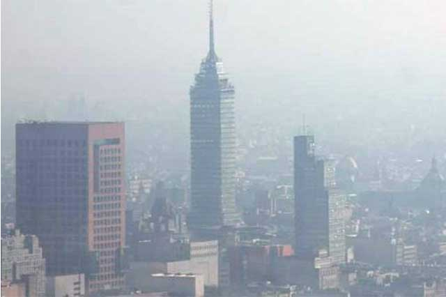 Continúa contingencia ambiental en la Ciudad de México
