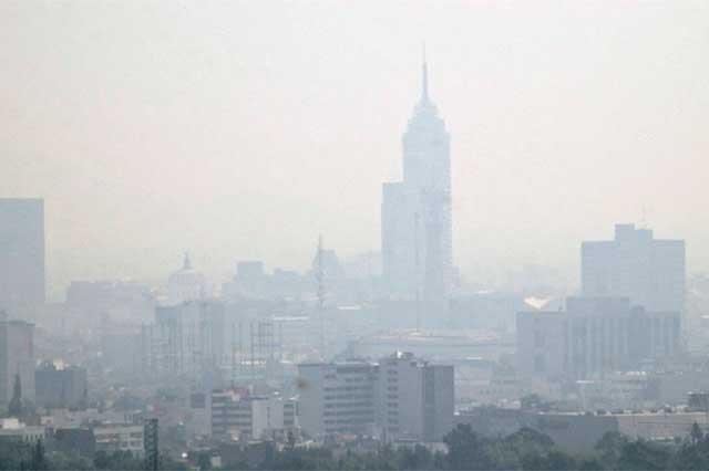 Mala calidad del aire en el DF activa fase de precontingencia