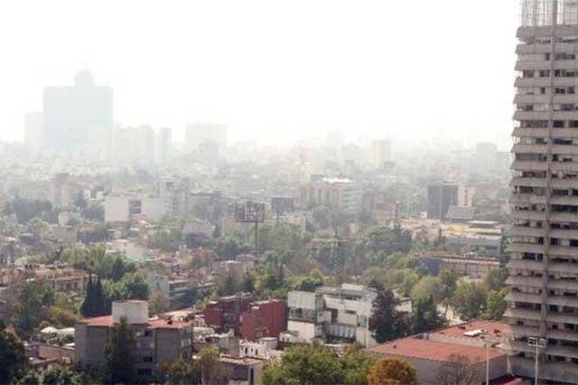 Reportan regular calidad del aire en la Ciudad de México