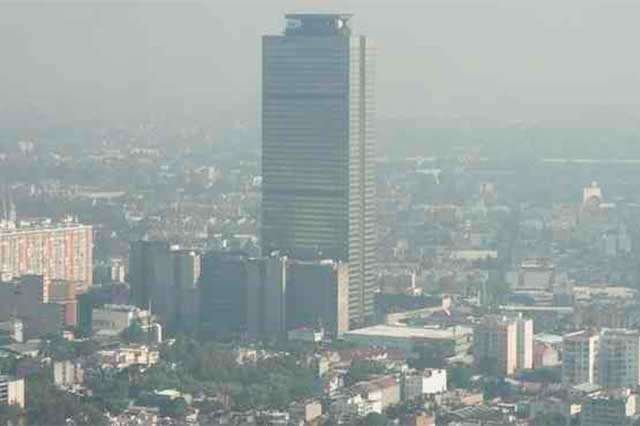 Persiste la mala calidad de aire en la Ciudad de México