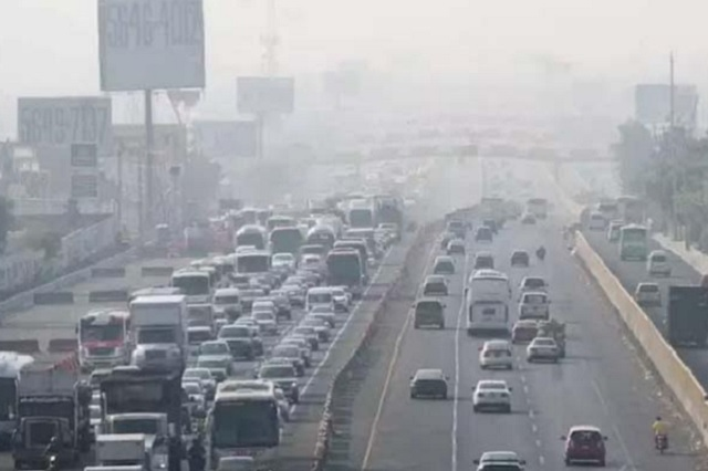 Reportan mala calidad del aire en tres municipios del Edomex
