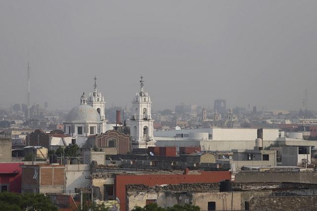 Otra vez se vuelve mala la calidad del aire en Puebla