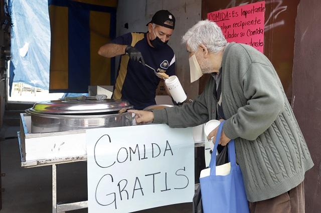 Restaurantes donarán 2,500 paquetes de comida en Puebla