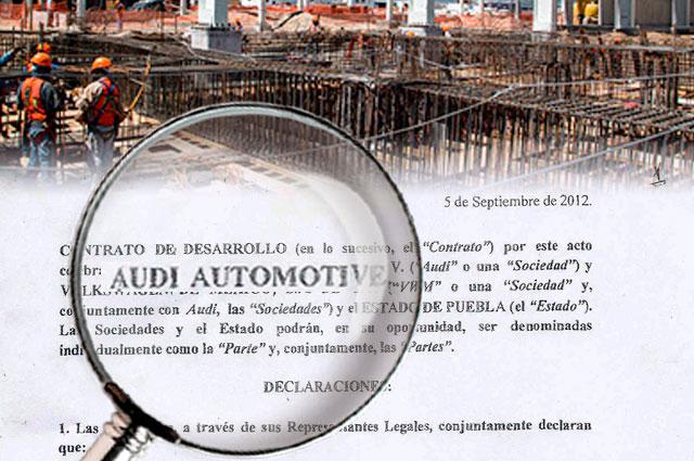 Puebla no solo pagó la obra, sino hasta la nómina y viajes de Audi