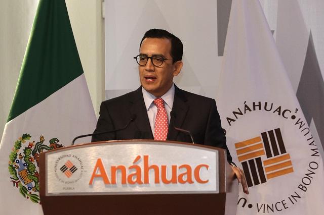 Almeida interino y gabinete sin cambios: rector de la Anáhuac