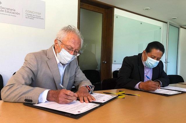 Acuerdan IPPI y CONCYTEP difundir patrimonio cultural de Puebla