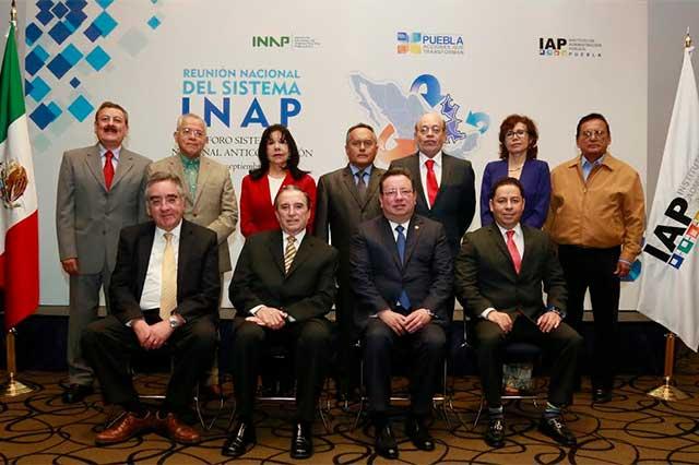 INAP e IAP Puebla firman convenio para desarrollo académico