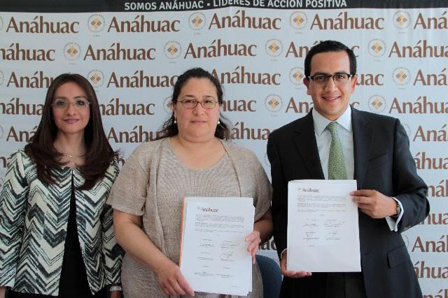 Firman convenio de colaboración la Universidad Anáhuac y La Morena