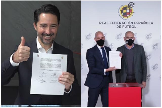 Acuerdo entre FMF y RFEF busca potencializar futbol mexicano y español
