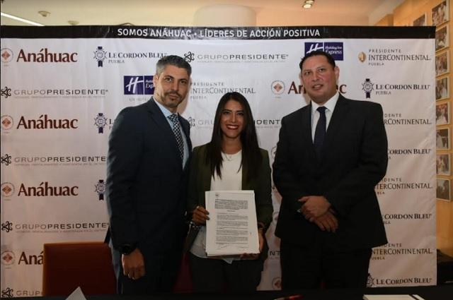 Le Cordon Bleu – Anáhuac firma convenio con Grupo Presidente
