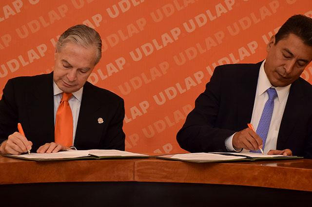 UDLAP y el Instituto Nacional de Salud, signan convenio de colaboración