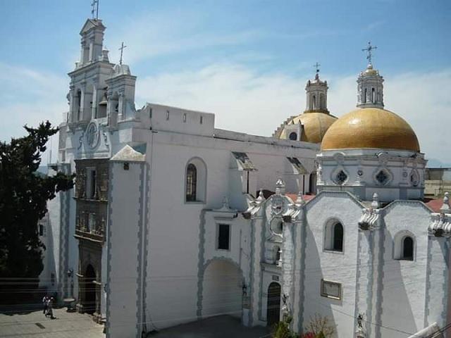 Celebran 404 años del ex convento de Santa María Magdalena
