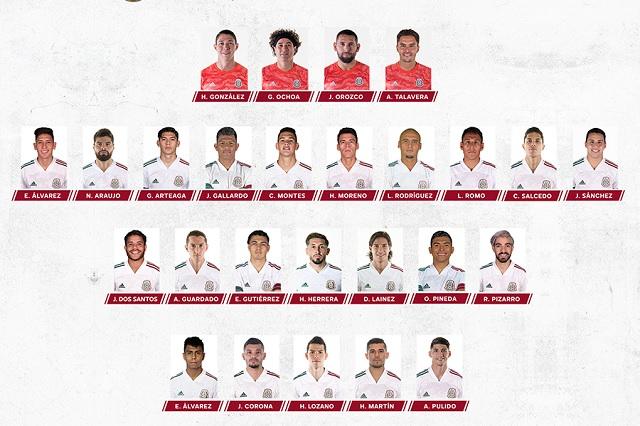 Ormeño NO va; Martino presenta a sus 26 convocados a Selección Mexicana
