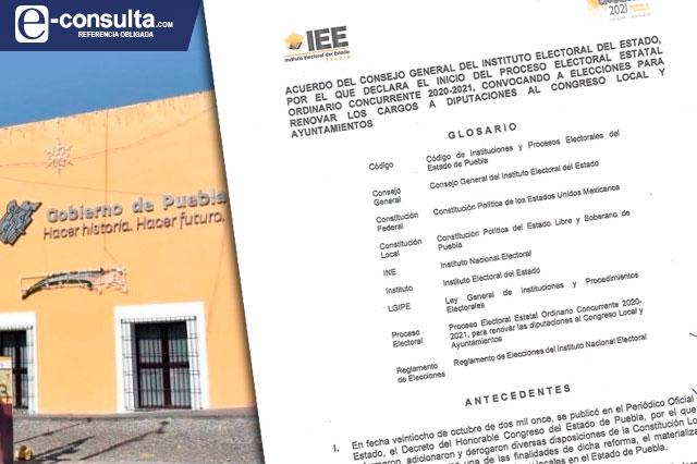 Olvidan publicar convocatoria para la elección en Puebla