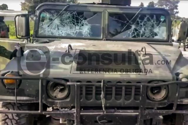 Video: Atacan convoy militar que aseguró pipa de gas en Tepeaca
