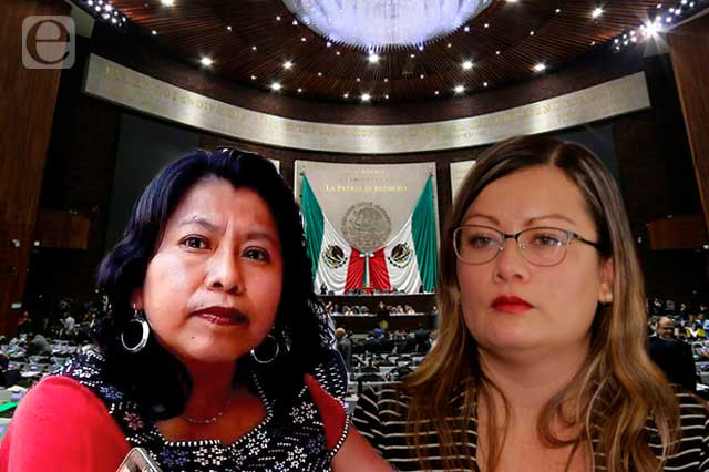 Disputan Vences y Parra liderazgo de Morena Puebla en San Lázaro