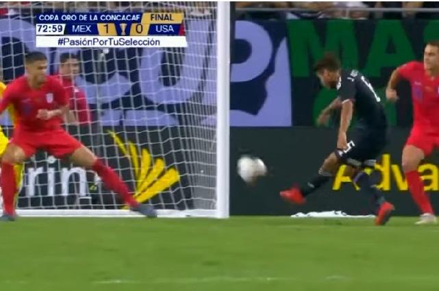 Hermanos Dos Santos meten goles parecidos en finales de Copa Oro