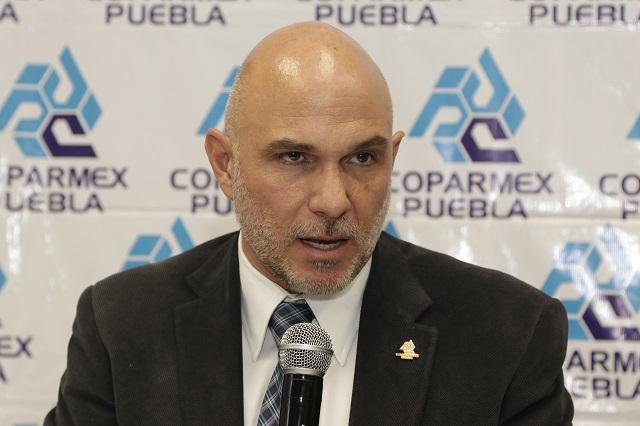 Niega Coparmex disimular indicadores que no favorecen a Puebla
