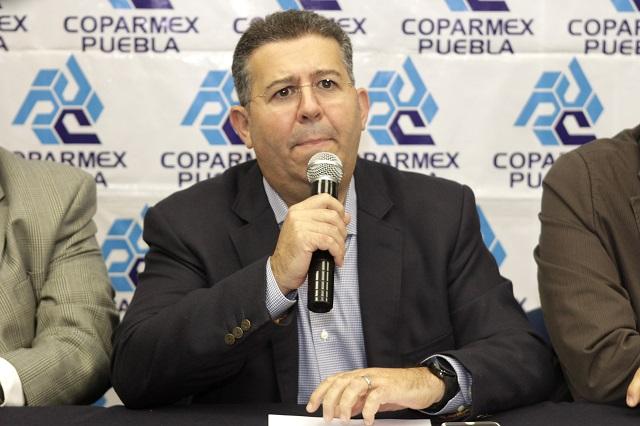 A media tabla se ubica la confianza empresarial en Puebla