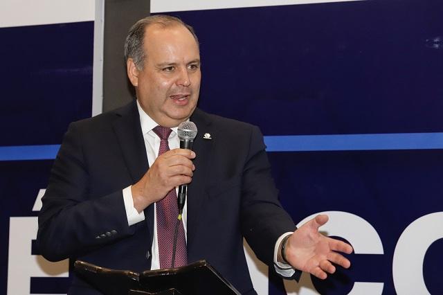 Líder de Coparmex avala en Puebla medidas de seguridad de AMLO