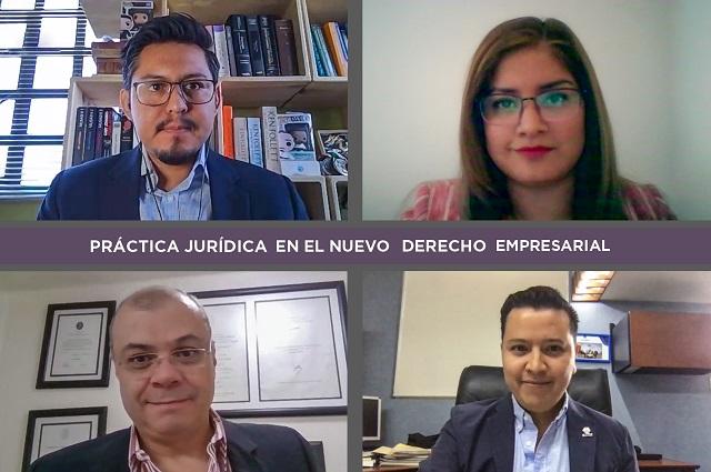 Seminario en UDLAP aborda el derecho empresarial