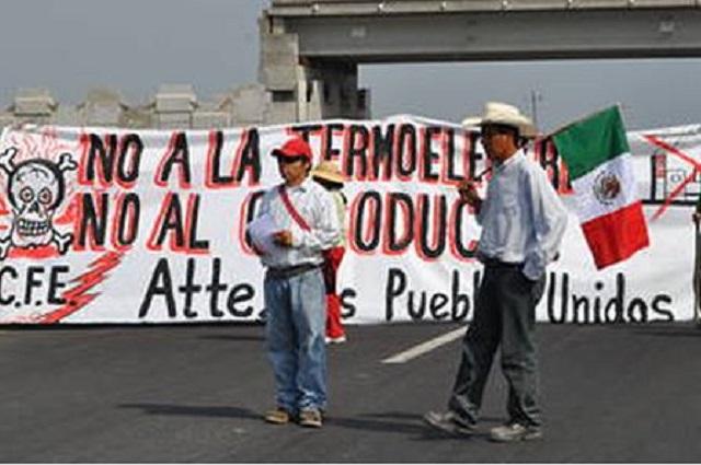 GN desaloja plantón contra el Proyecto Integral Morelos