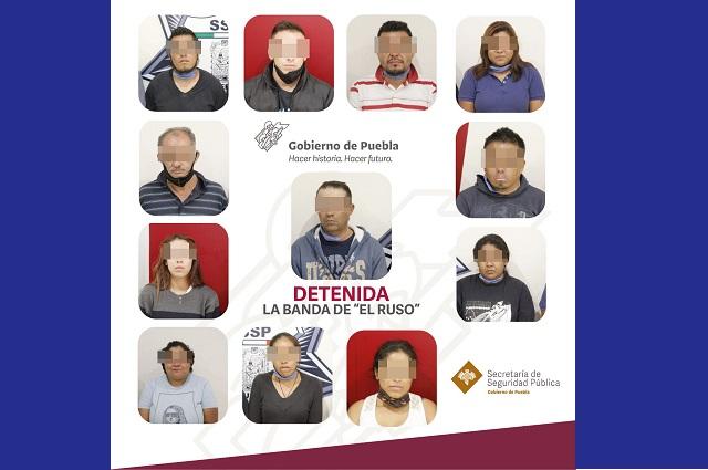 Presos, falsificadores de billetes detenidos en Puebla