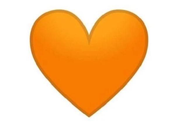 Recibiste un corazón naranja en WhatsApp y no sabes qué significa