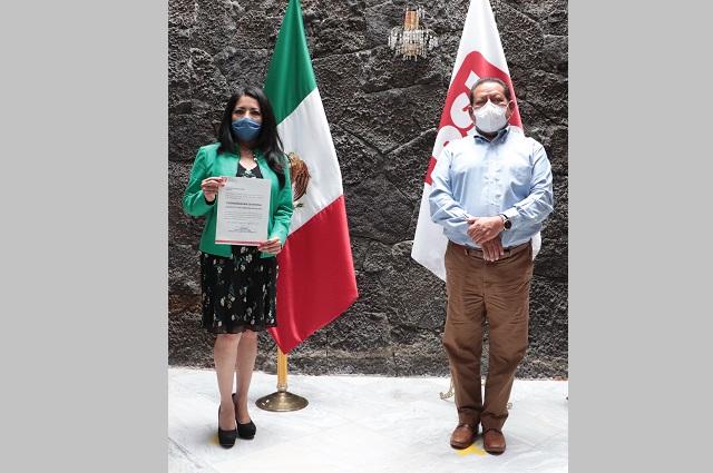 Nombra PSI a Maricela Ramos Jiménez, coordinadora en Atlixco