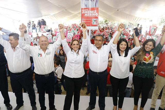 Jiménez Merino es el gobernador que Puebla necesita: Ruiz Massieu