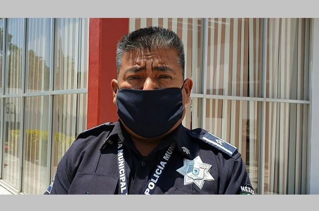Aplican en Coronango operativo contra la delincuencia