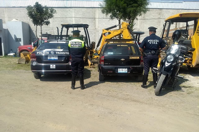 Recupera policía de Coronango auto en Ocotlán