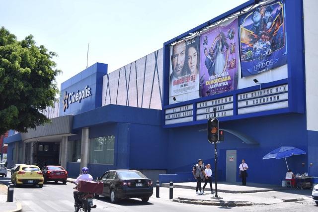 Reabren cines en Puebla este viernes tras 8 meses inactivos