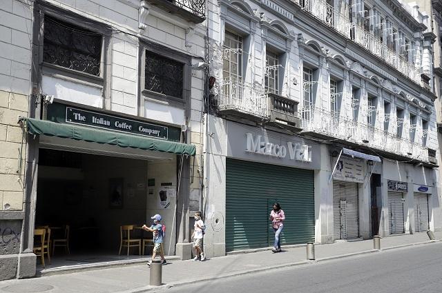 Prevén cierre de 380 comercios en Centro de Puebla tras crisis