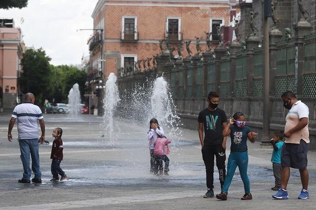 Niños o adolescentes, 3 de cada 100 contagios en Puebla