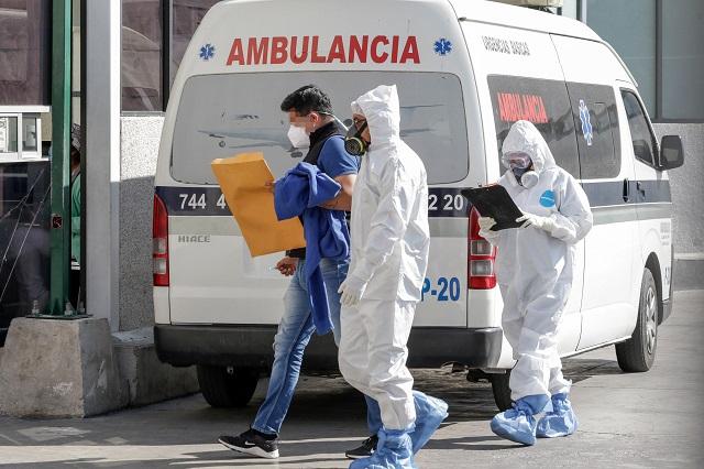 Con 1,410, Puebla rompe récord de hospitalizados por Covid