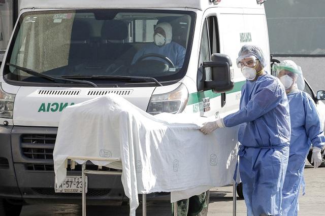 Registra Covid en Puebla 27 muertes y 233 nuevos casos