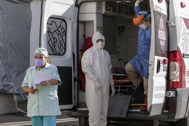 Médicos y enfermeras de Cholula exigen vacuna contra el Covid-19