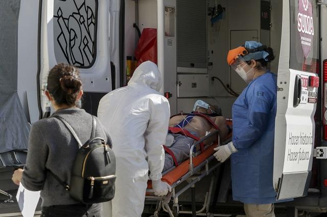 Por Covid en fin de semana, mil 25 contagios y 135 muertos