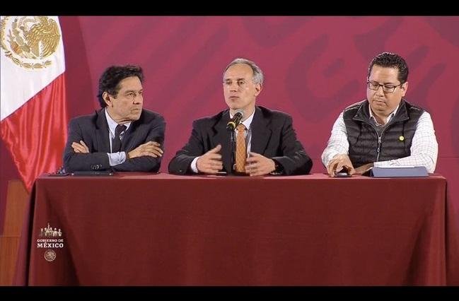 Ya hay 3 casos confirmados de coronavirus en México