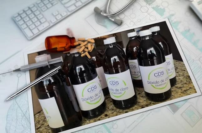 Advierten las consecuencias de tomar dióxido de cloro contra coronavirus